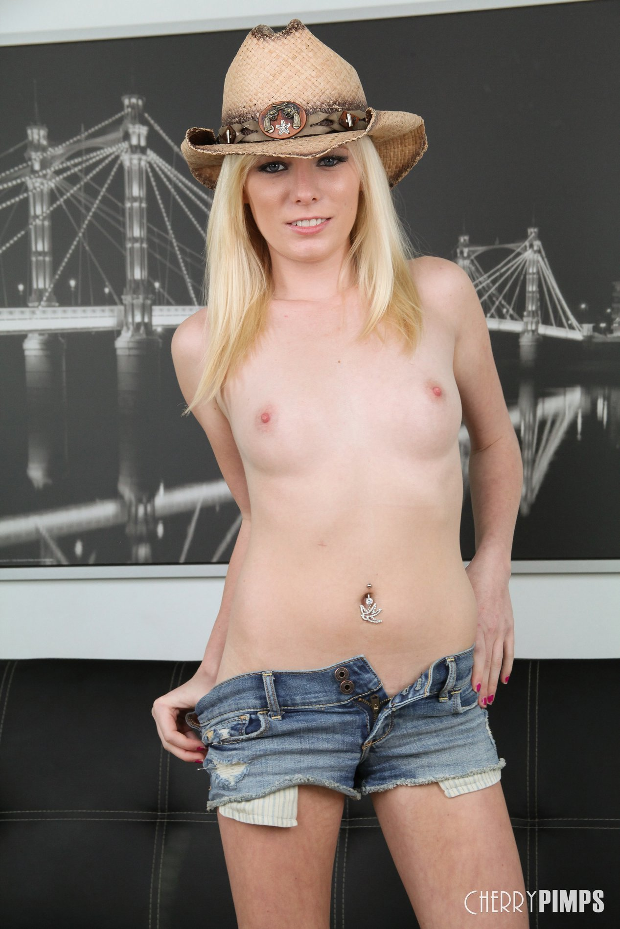 Cute Blonde Shows Off Her Sexy Body 32