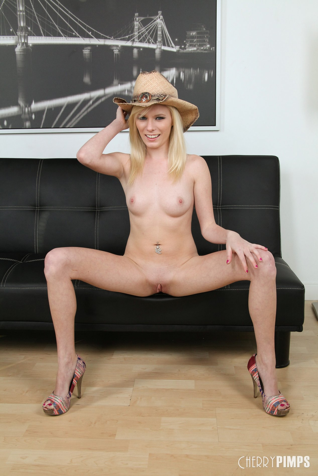 Cute Blonde Shows Off Her Sexy Body 106