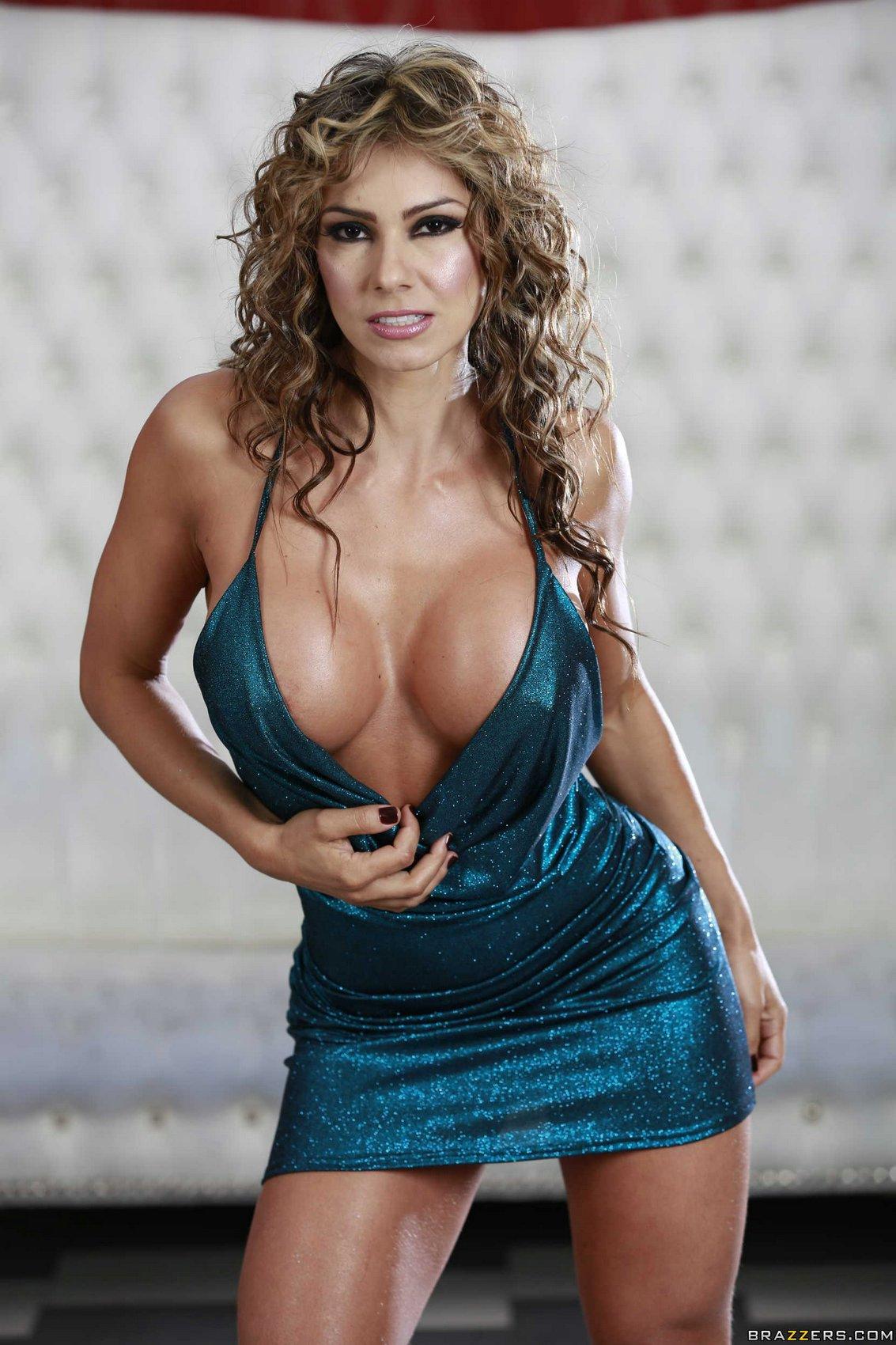 Esperanza Gomez in sexy dress and heels showing her hot ...