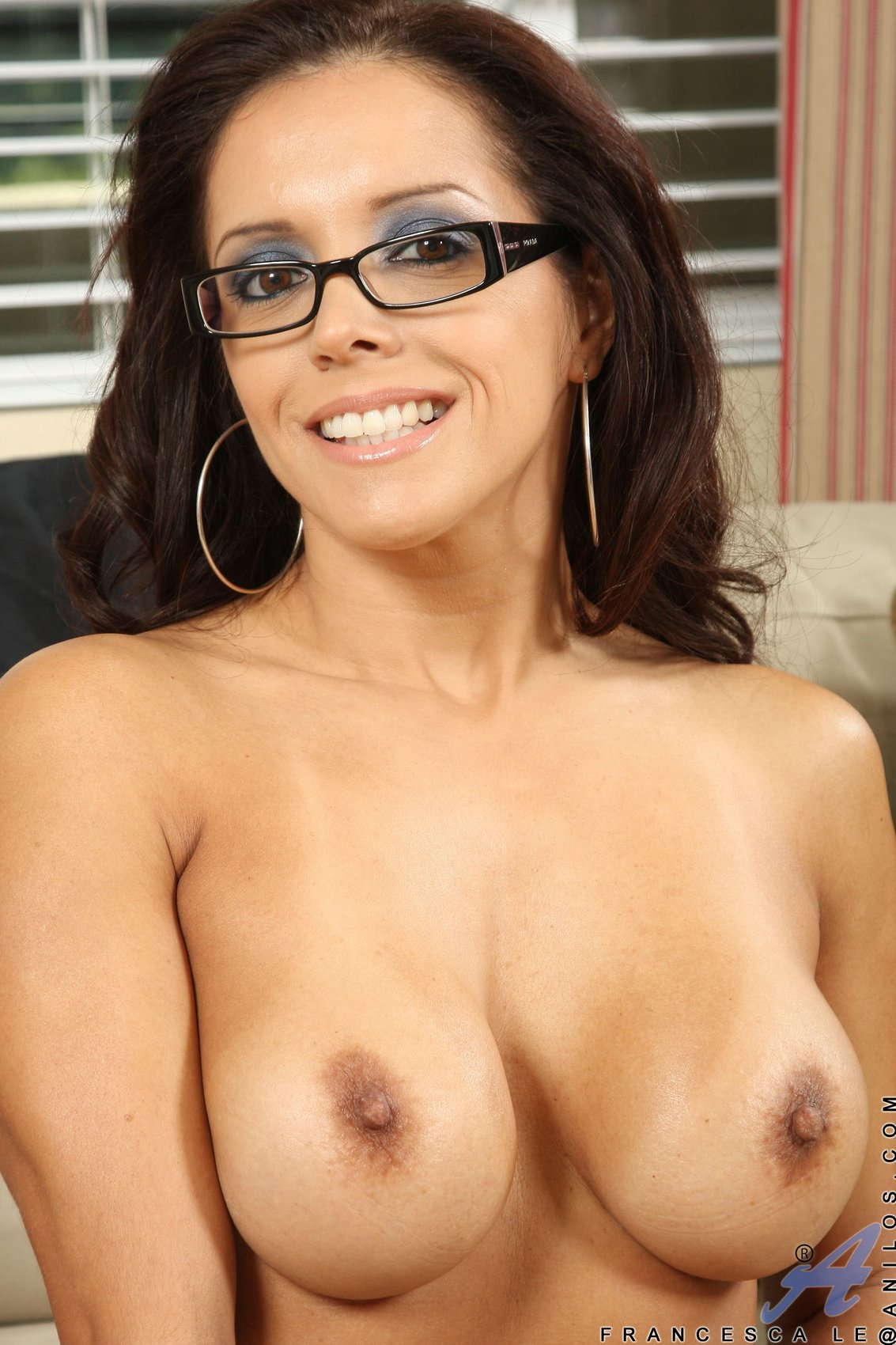 Hot latina strips and fucks herself on the couch 9