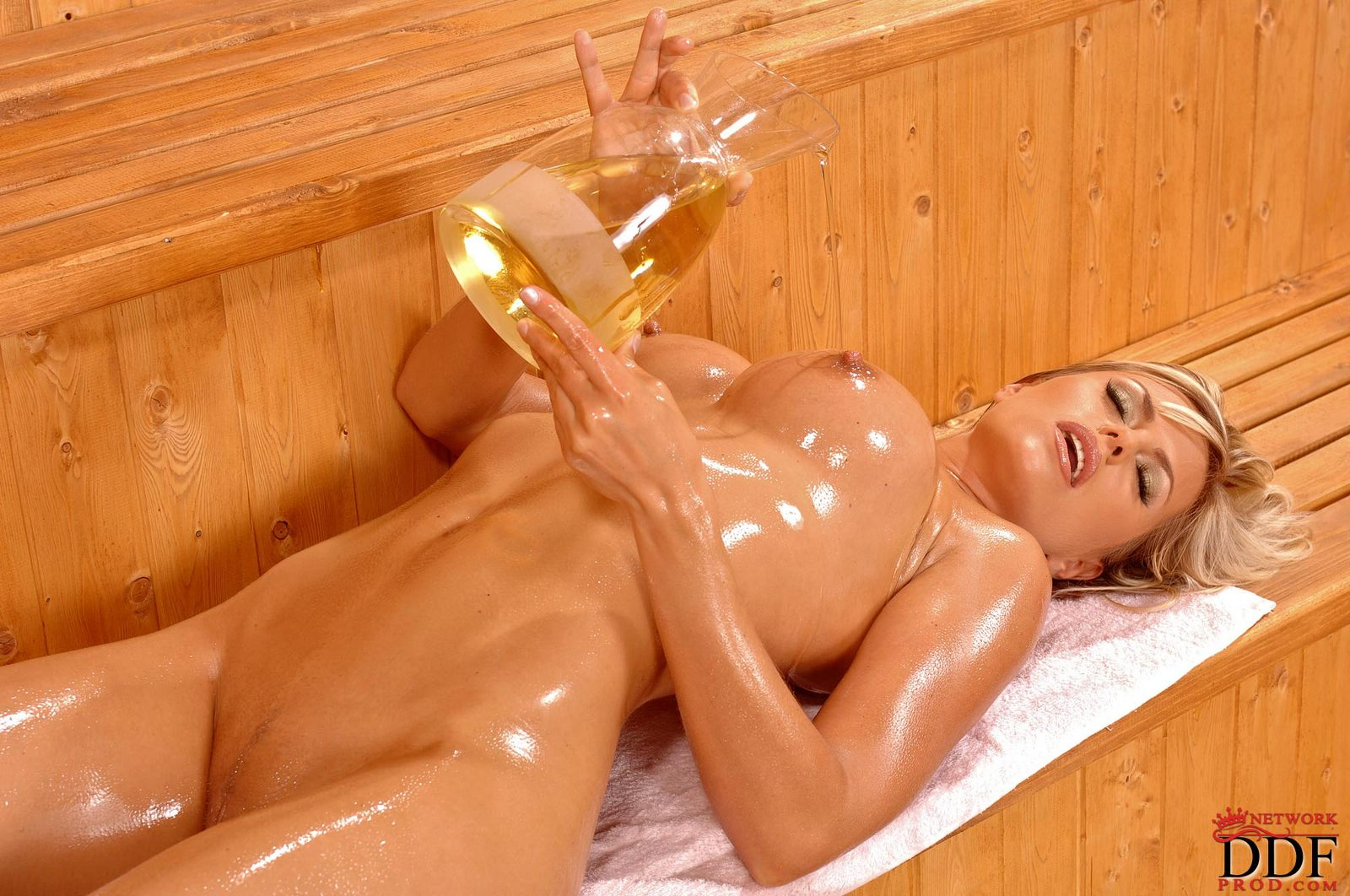from Cain sexy and oily nude ladies