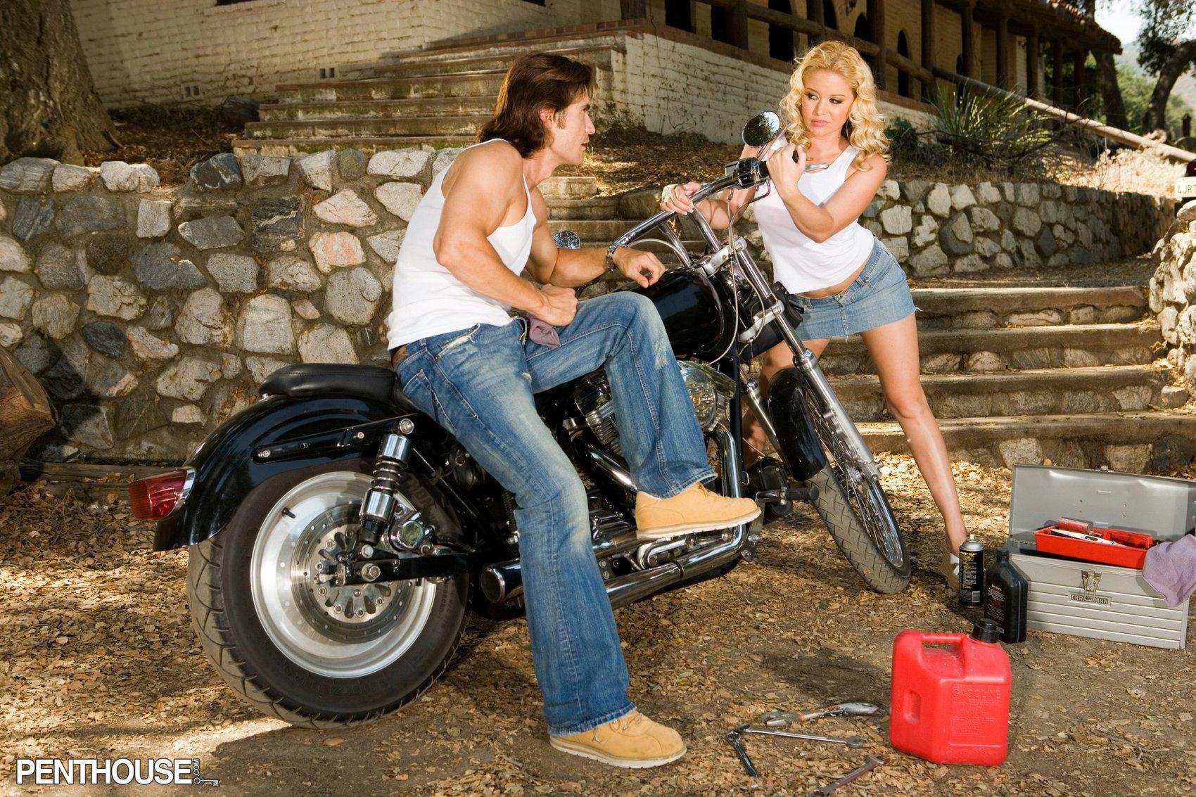 Pornstar Holly Morgan Top holly morgan getting fucked on motorcycle - my pornstar book