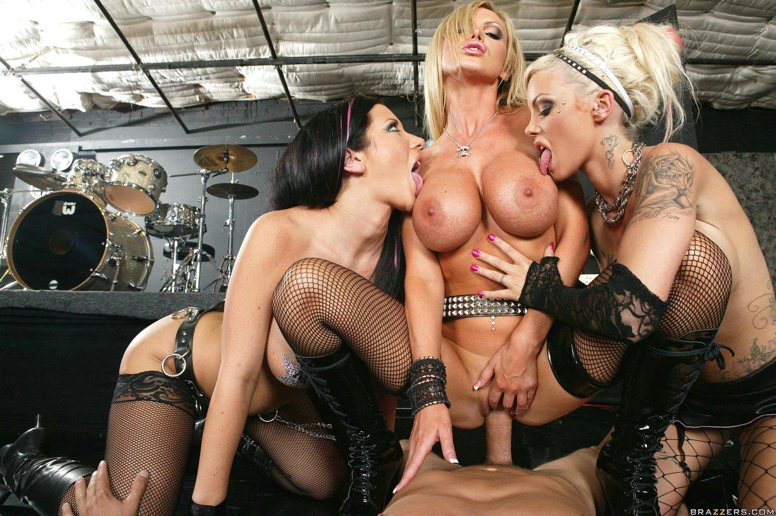 Boob group porn star