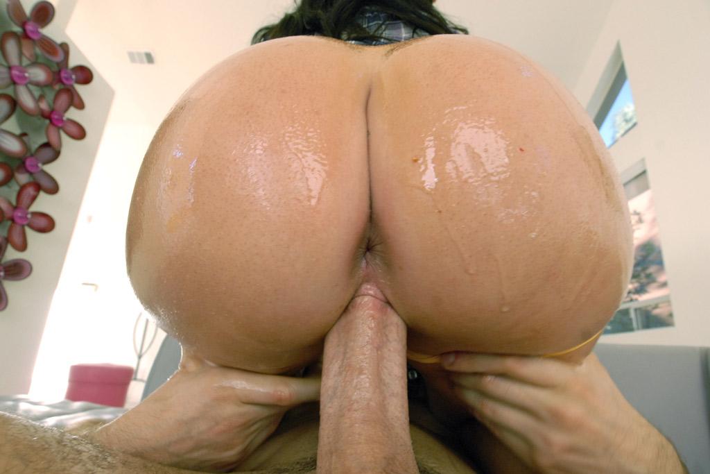 Sexy Oiled Brunette Jenna Presley Fucks Big Cock In Pov -7101