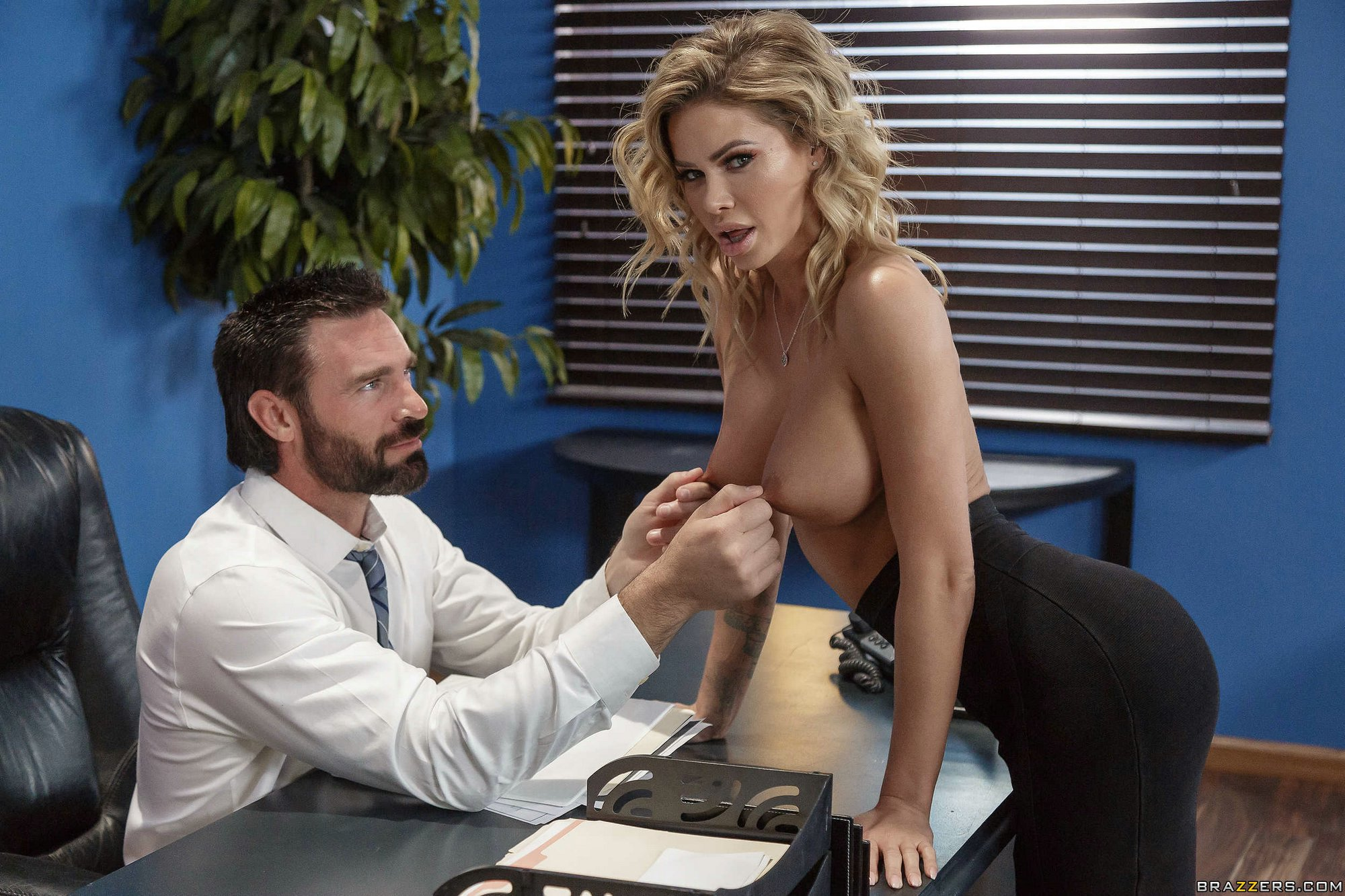 Boss Having Sex Secretary