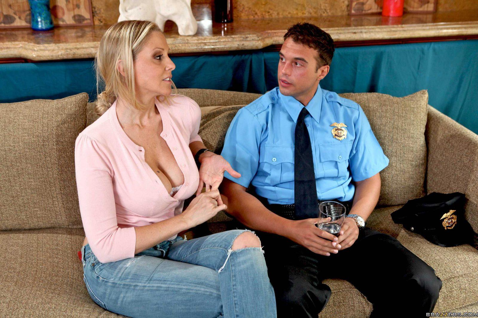 Julia ann fucks a cop