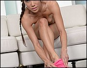Masturbation Take young feet in pantyhose first days