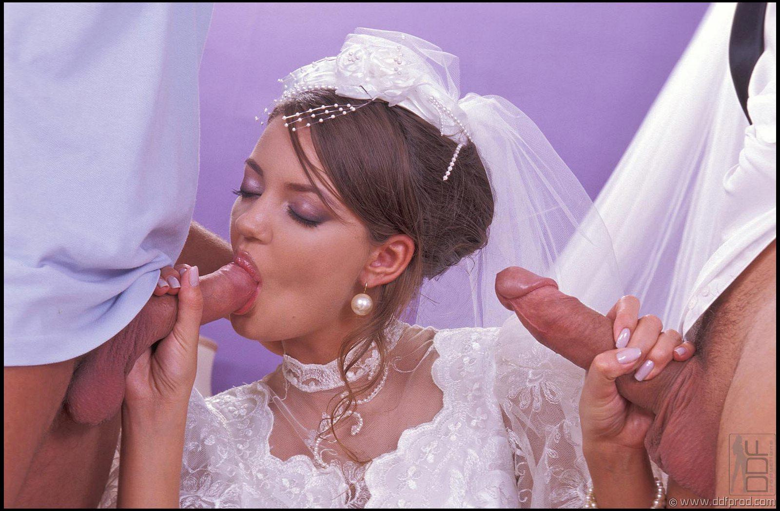 Смотреть порно трахнули русскую невесту, Невесты порно, смотреть секс с Невестой перед 21 фотография