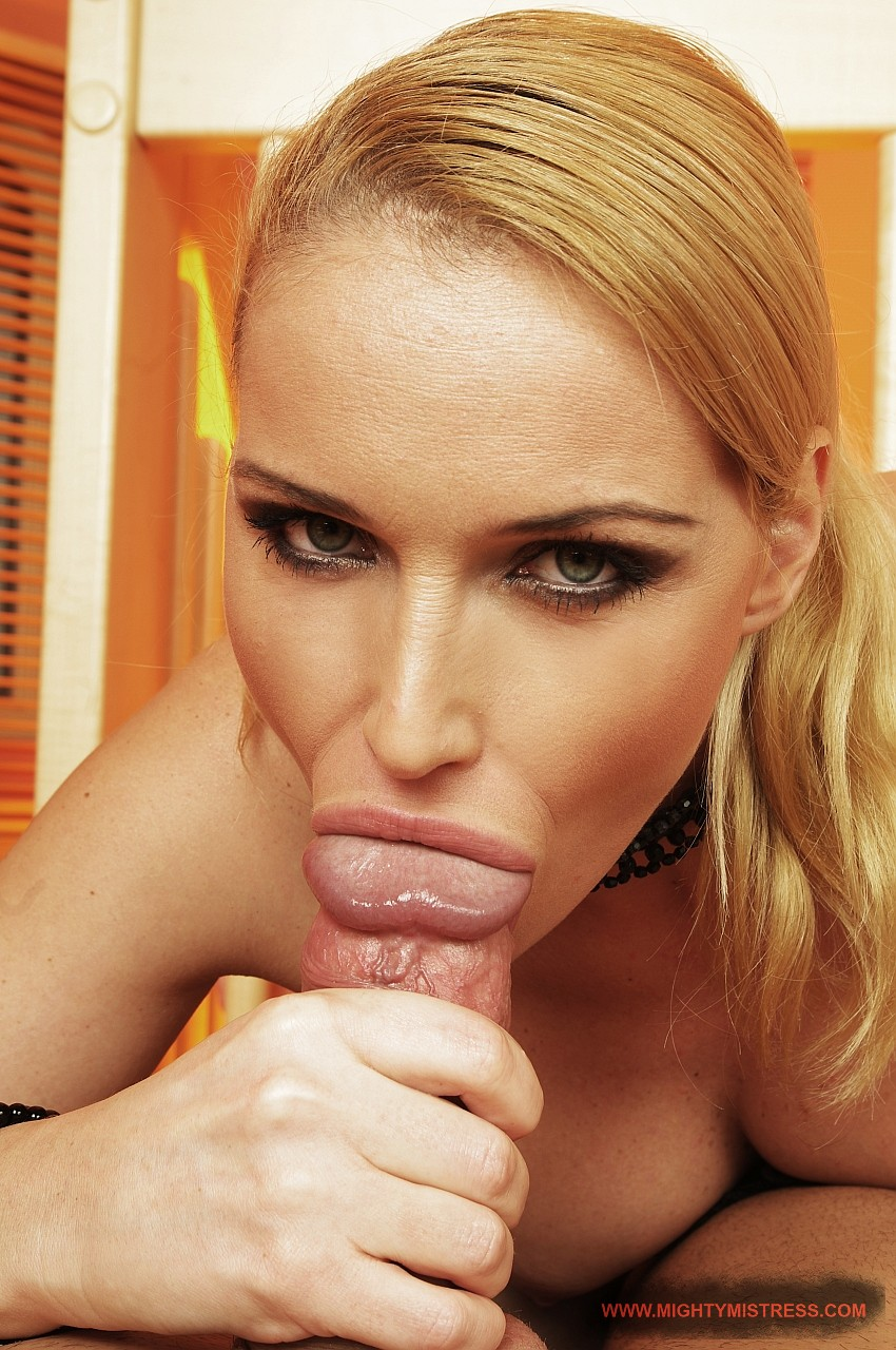 Blonde Babe Pov Blowjob