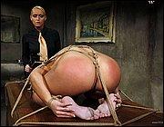 Lesbian mistress punishment