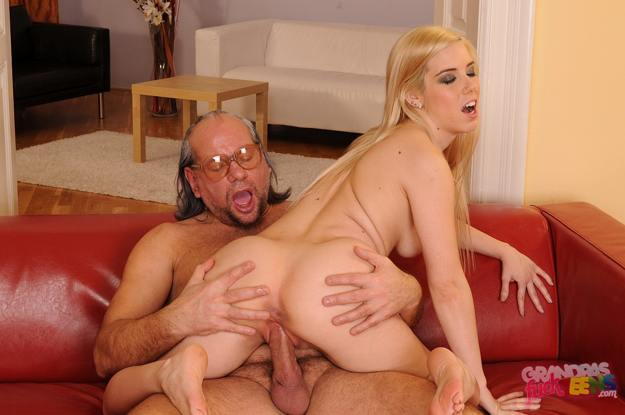 Lovely Teen Katrin Wolf Enjoying Hot Sex With Ugly Grandpa -8106