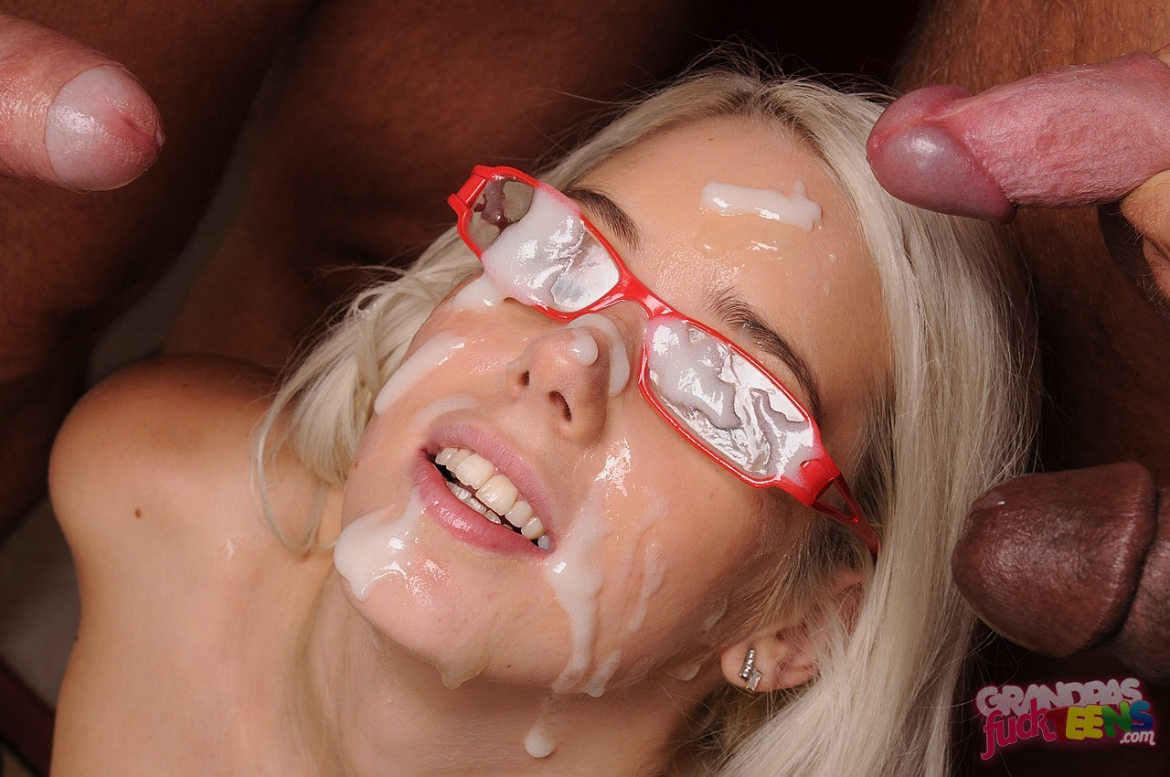 Katrin Wolf Sucking Four Old Cocks At Once - My Pornstar Book-6486