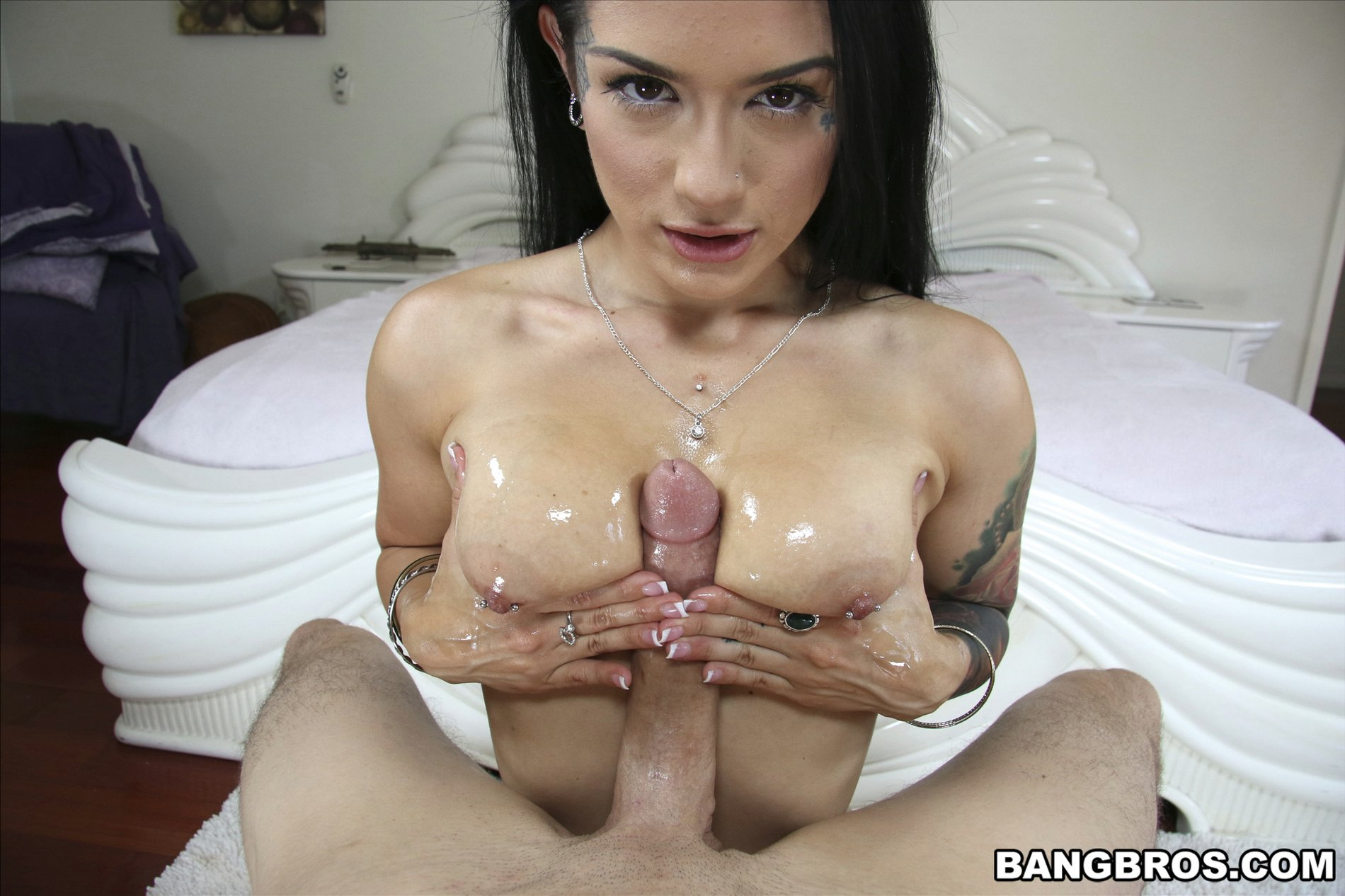 Cute Oiled Brunette Katrina Jade Getting Fucked In Pov -3211