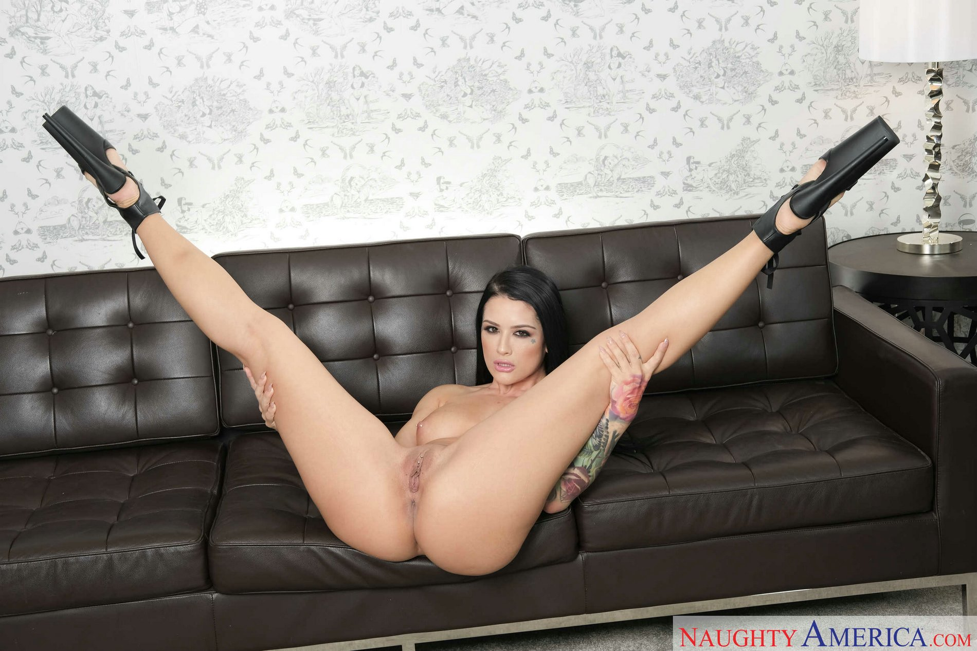 Katrina in sexy high heels speaking