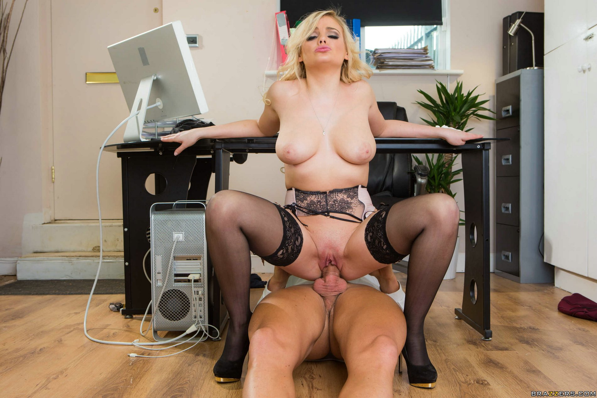 Katy jayne gets fucked by black dick 5