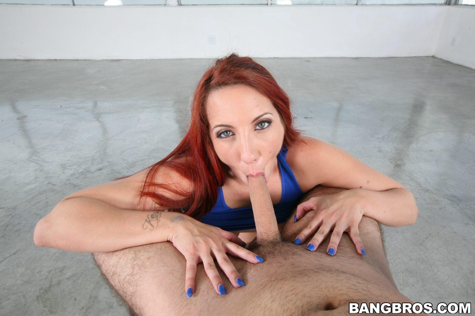 Kelly divine blowjob