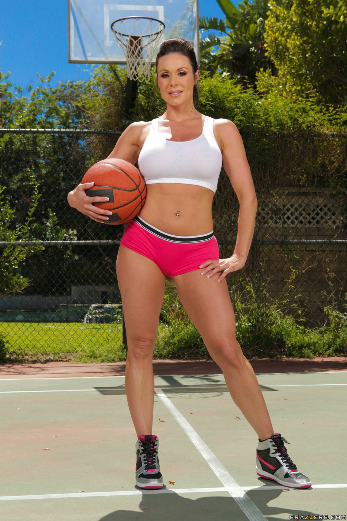 Basketball Porn basketball player kendra lust posing for your pleasure