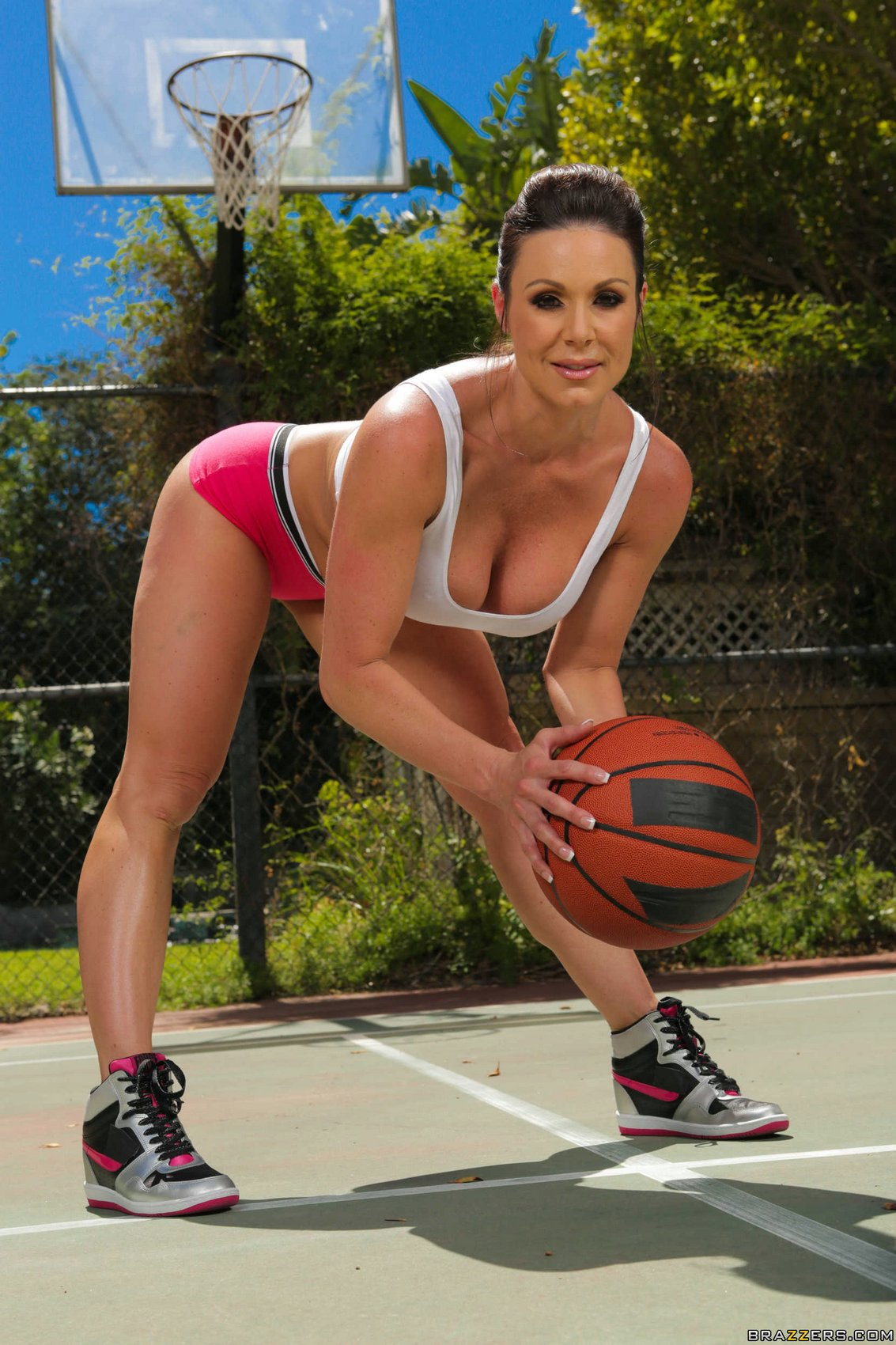 Lesbian lust and basketball scene 3