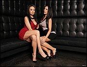 Brunette stunner with long hair Kirsten Price arranges a stripping show № 1021267 бесплатно
