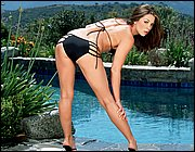 Stupendous pornstar with big tits Kirsten Price taking shower  1404170