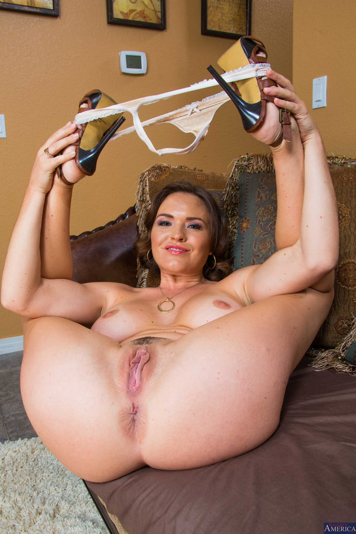 Very pendulous breast