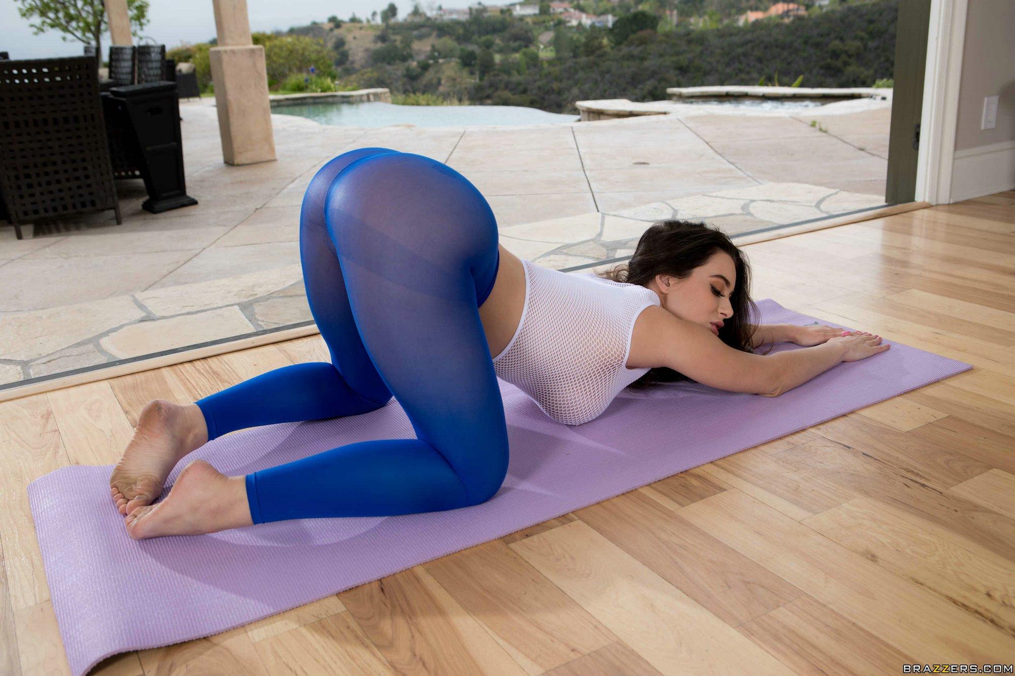 Lana Rhoades Yoga