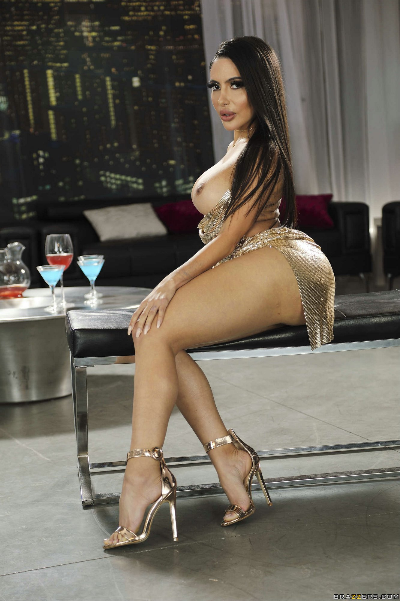 Lela Star In Sexy Dress And Shoes Likes Teasing - My -6168