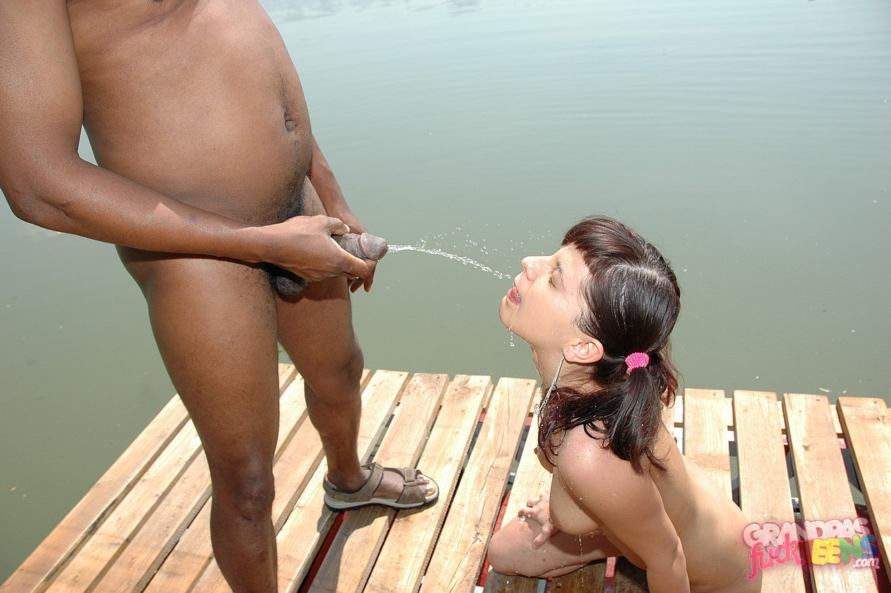 Nasty Interracial Guys Fucking Outdoor
