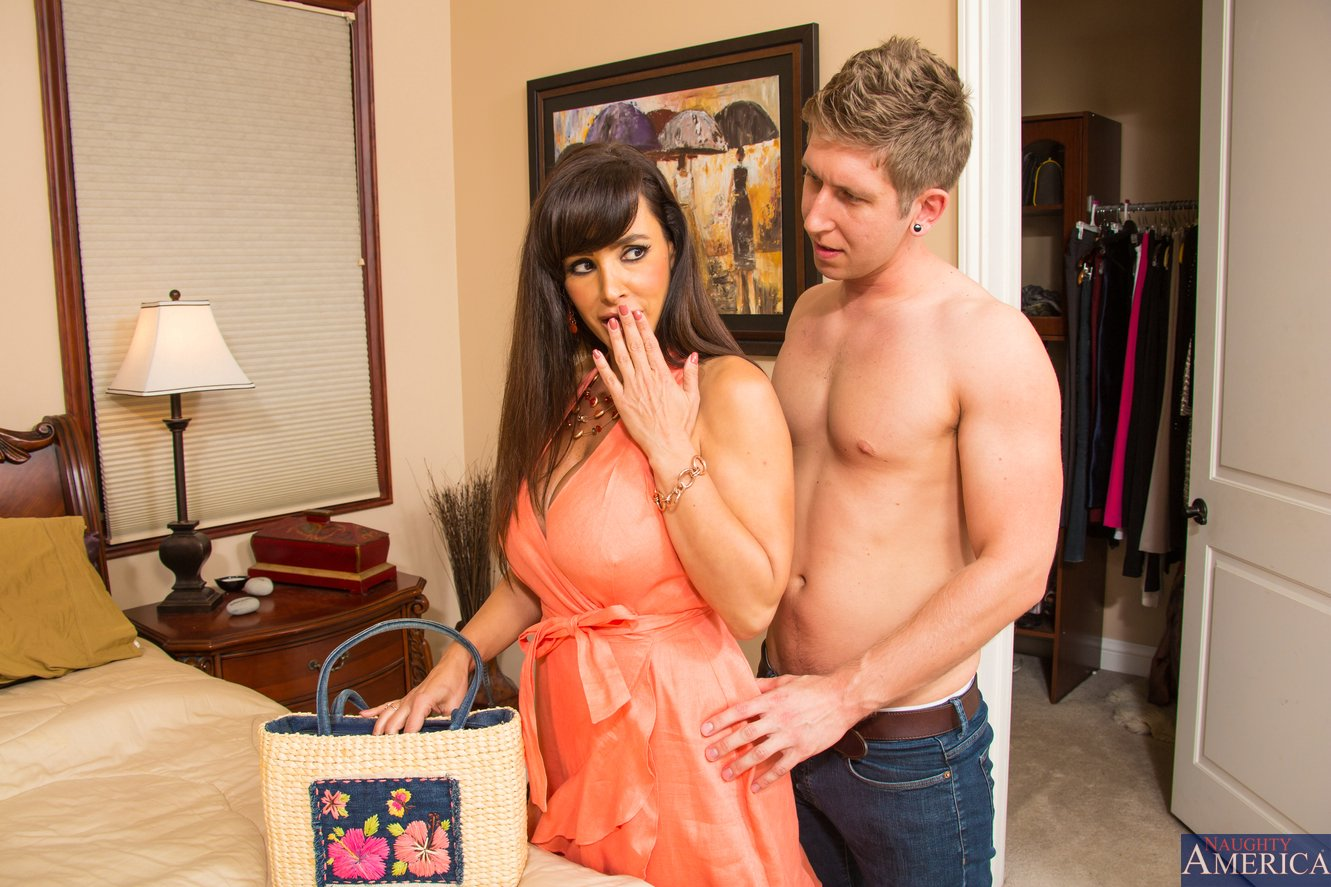 naughty mom lisa ann enjoying hot sex with young guy - my pornstar book