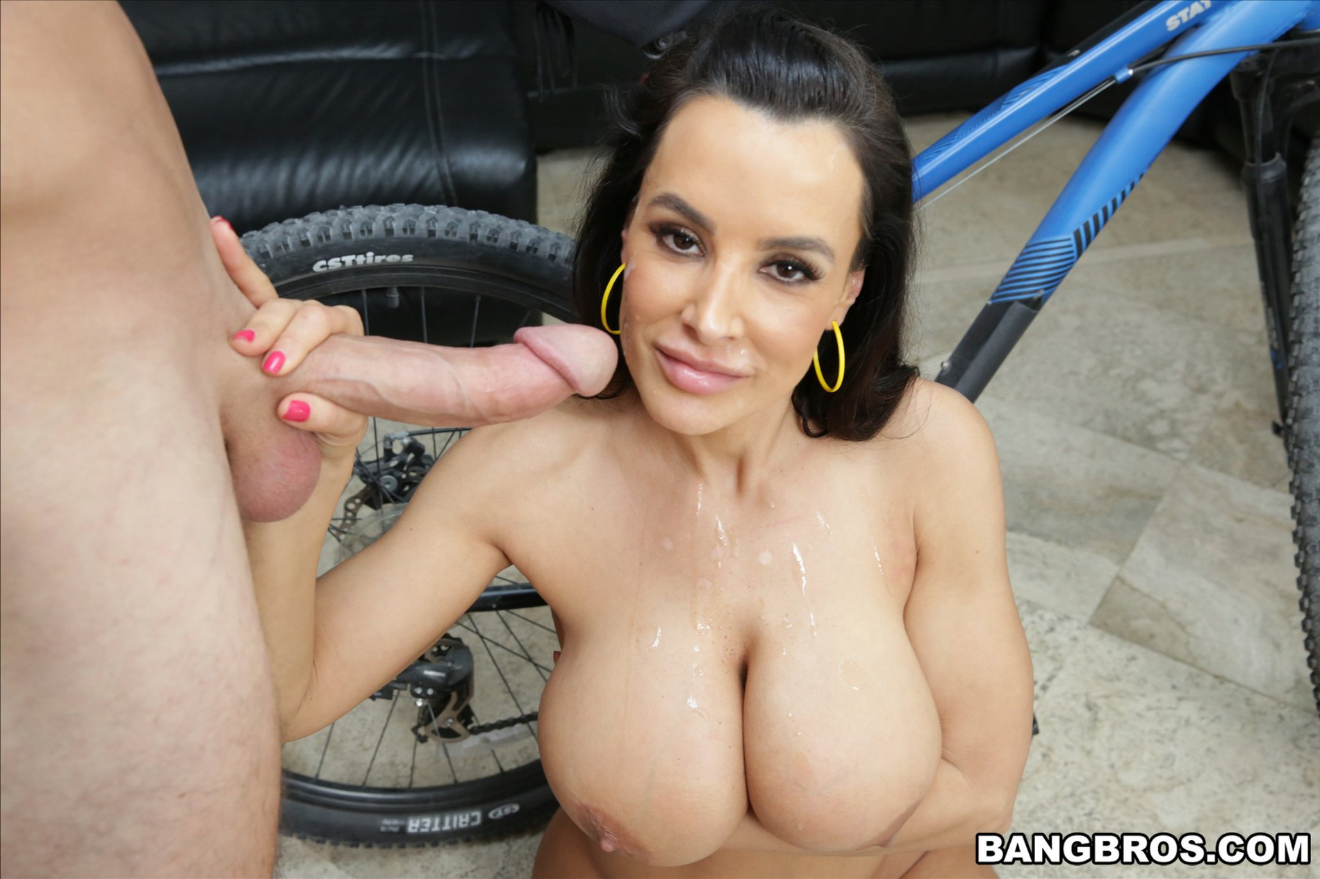 hot milf lisa ann gives blowjob and gets banged   my