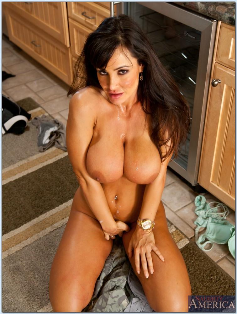 Tits kitchen ann big lisa