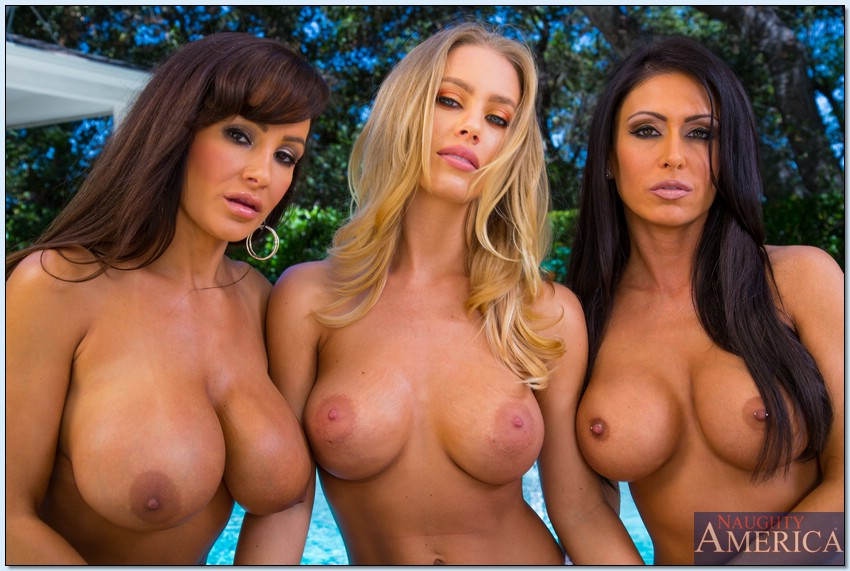 Nicole Aniston And Lisa Ann
