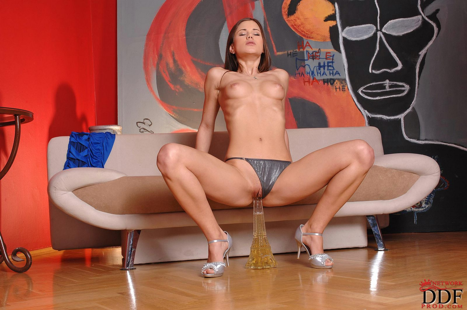 Seems Little caprice dildo with