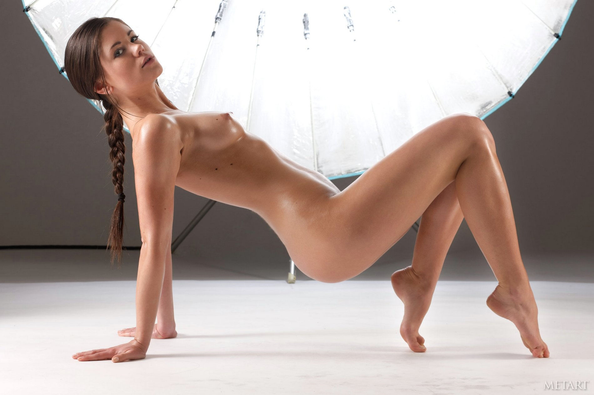 little caprice exposes her sexy oiled body in the studio   my pornstar