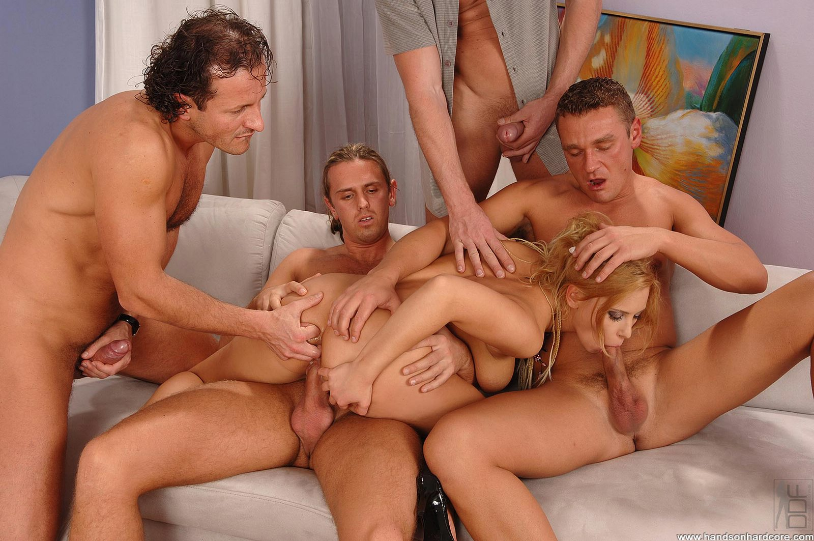 Gang Bang Action