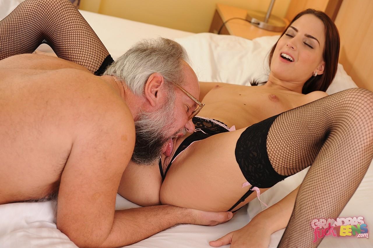 grandpa with sexy pornstars