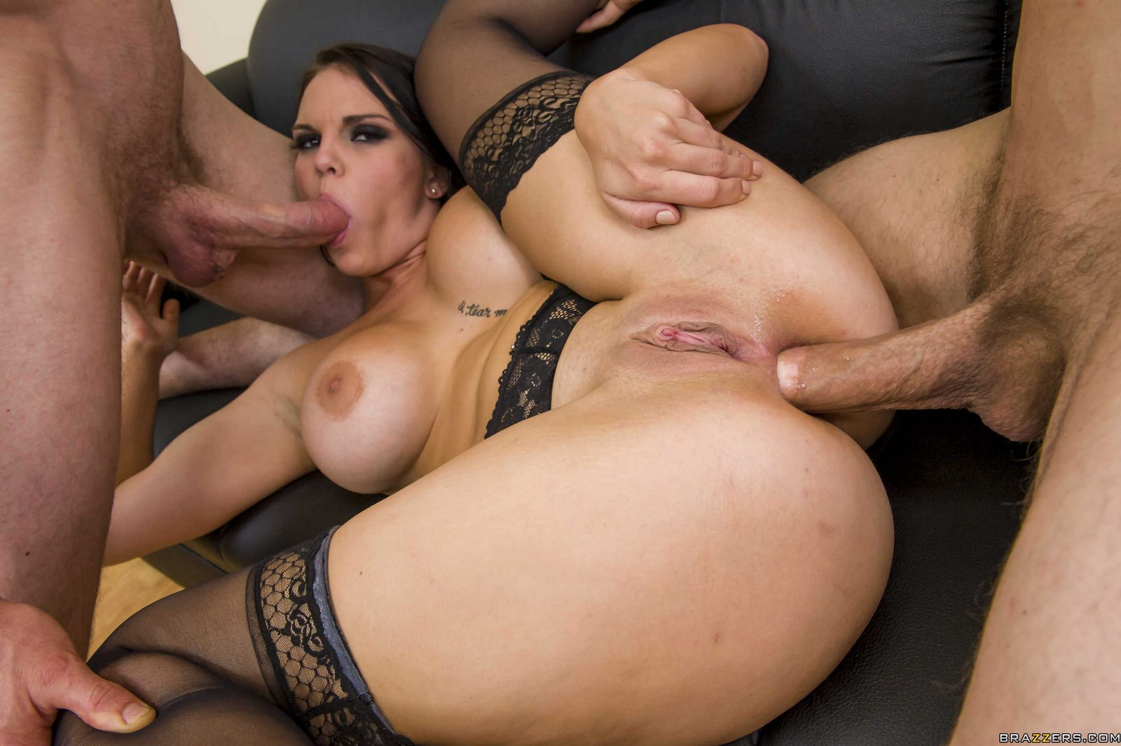A naughty threesome with stepmom joining 1