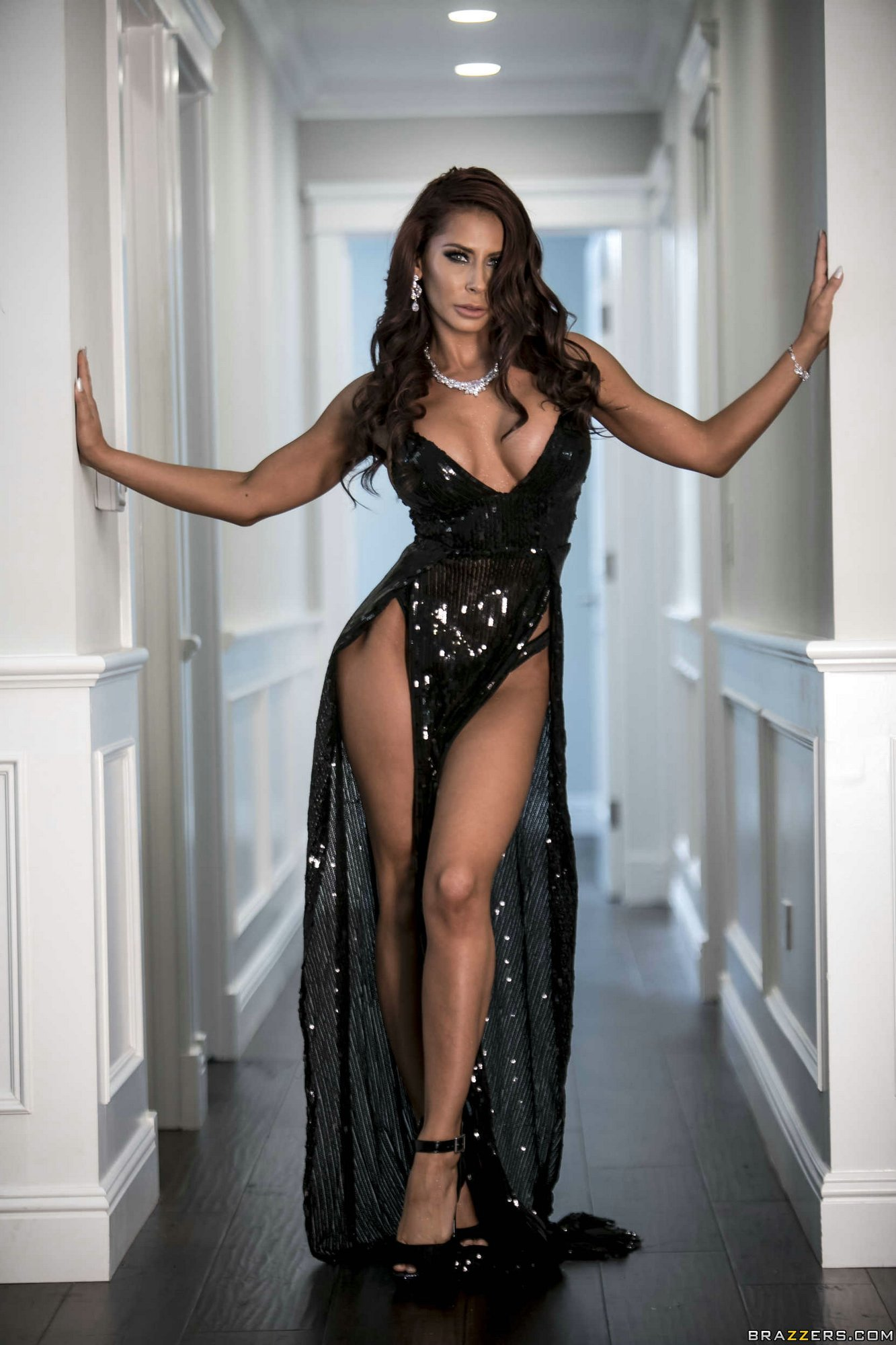 Madison Ivy Strips Off Her Beautiful Black Dress - My -6621
