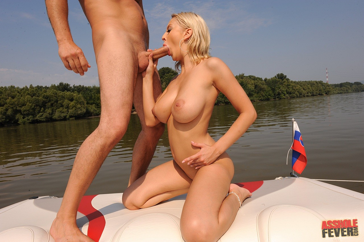 Mandy Dee Enjoying Hard Anal Sex On Boat - My Pornstar Book-5257