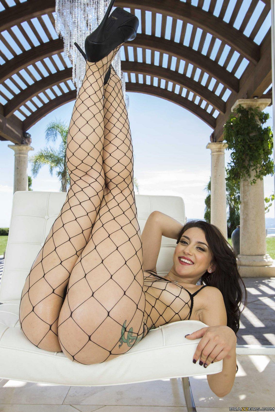 Mandy muse fishnet