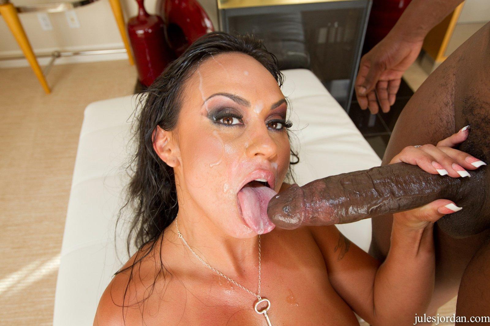 Tiny Latina Big Black Cock