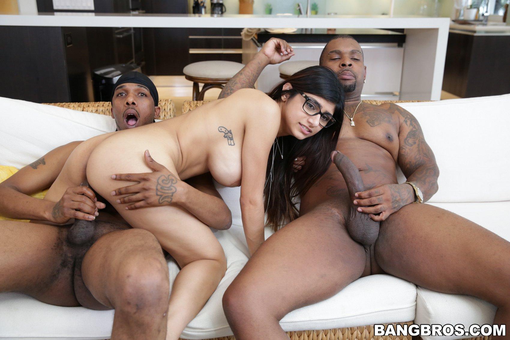 Black trio fucking