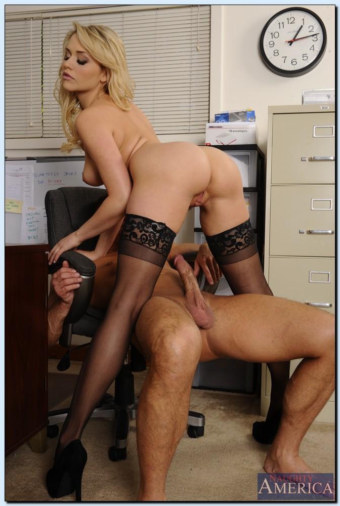 Mia office pornstar