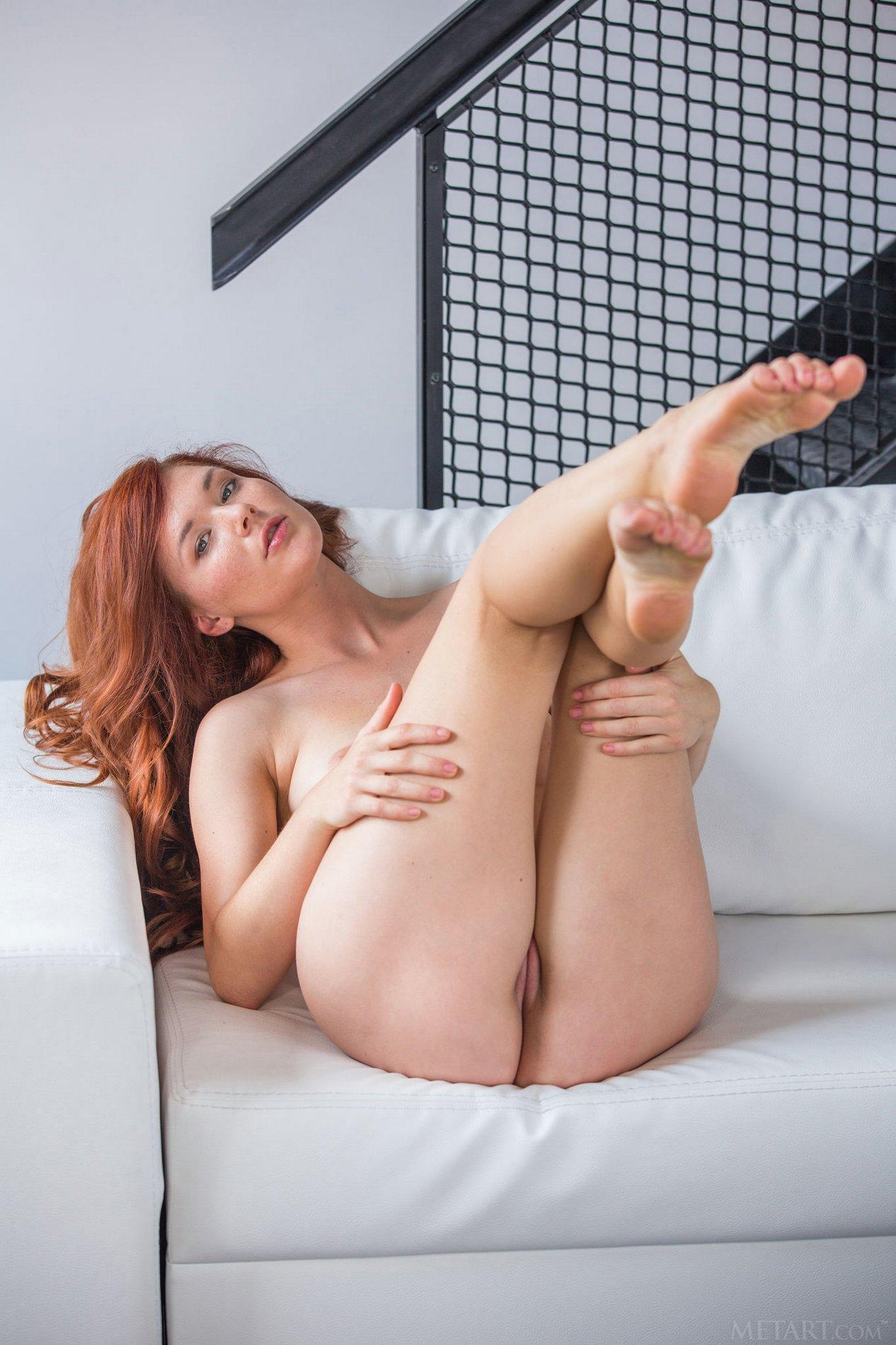 naked black booty bending over