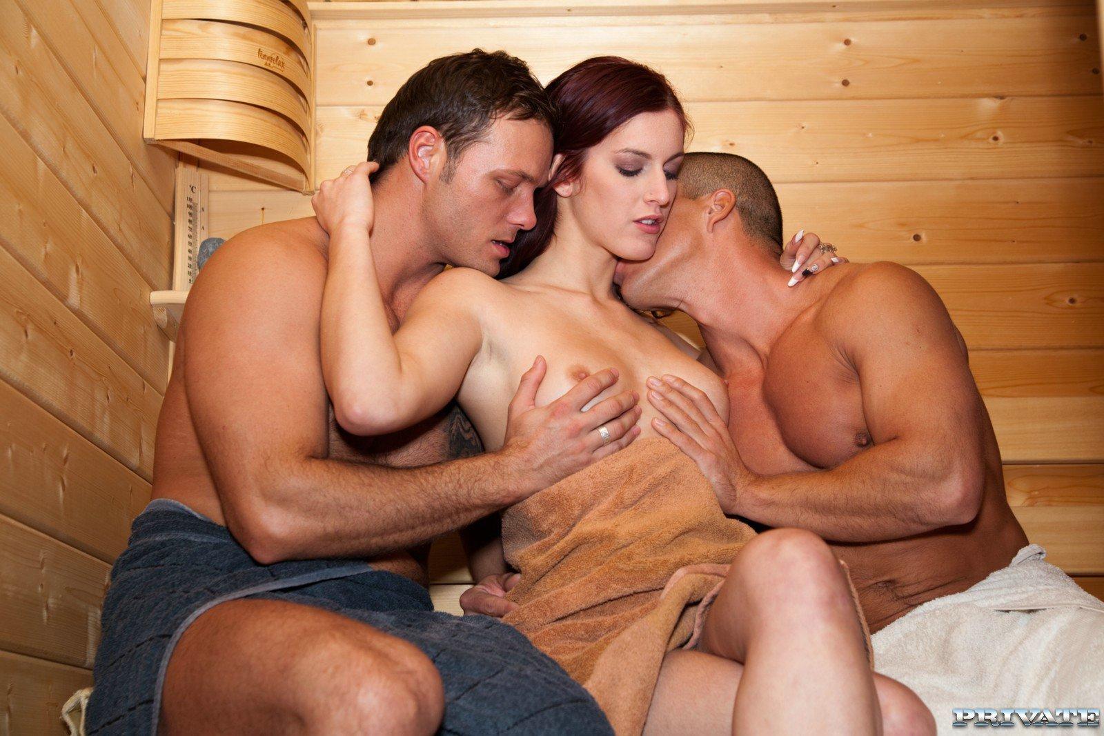 Жена с мужем пришли сауну порно
