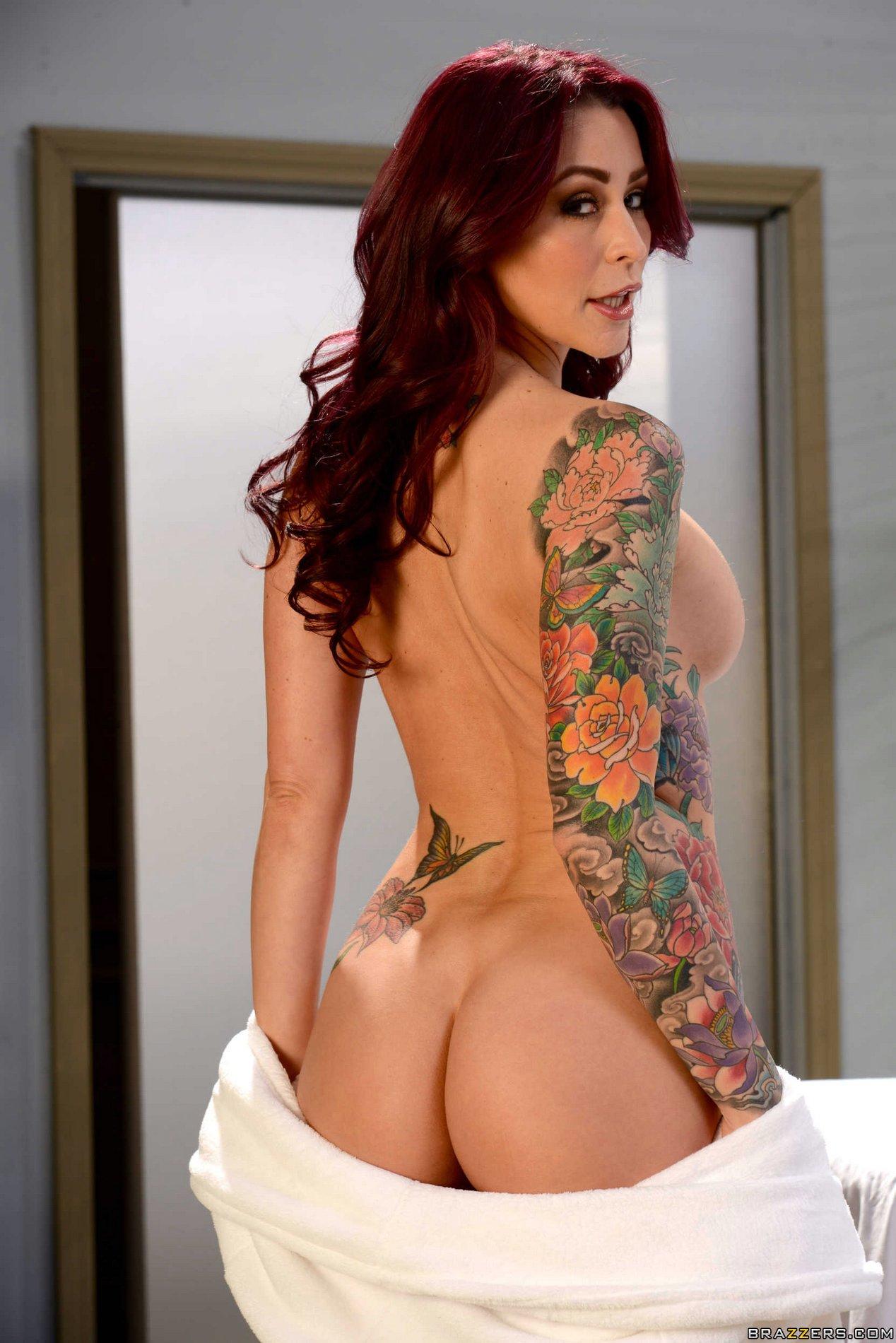 Tattooed redhead girlfriend monique alexander fucking 5