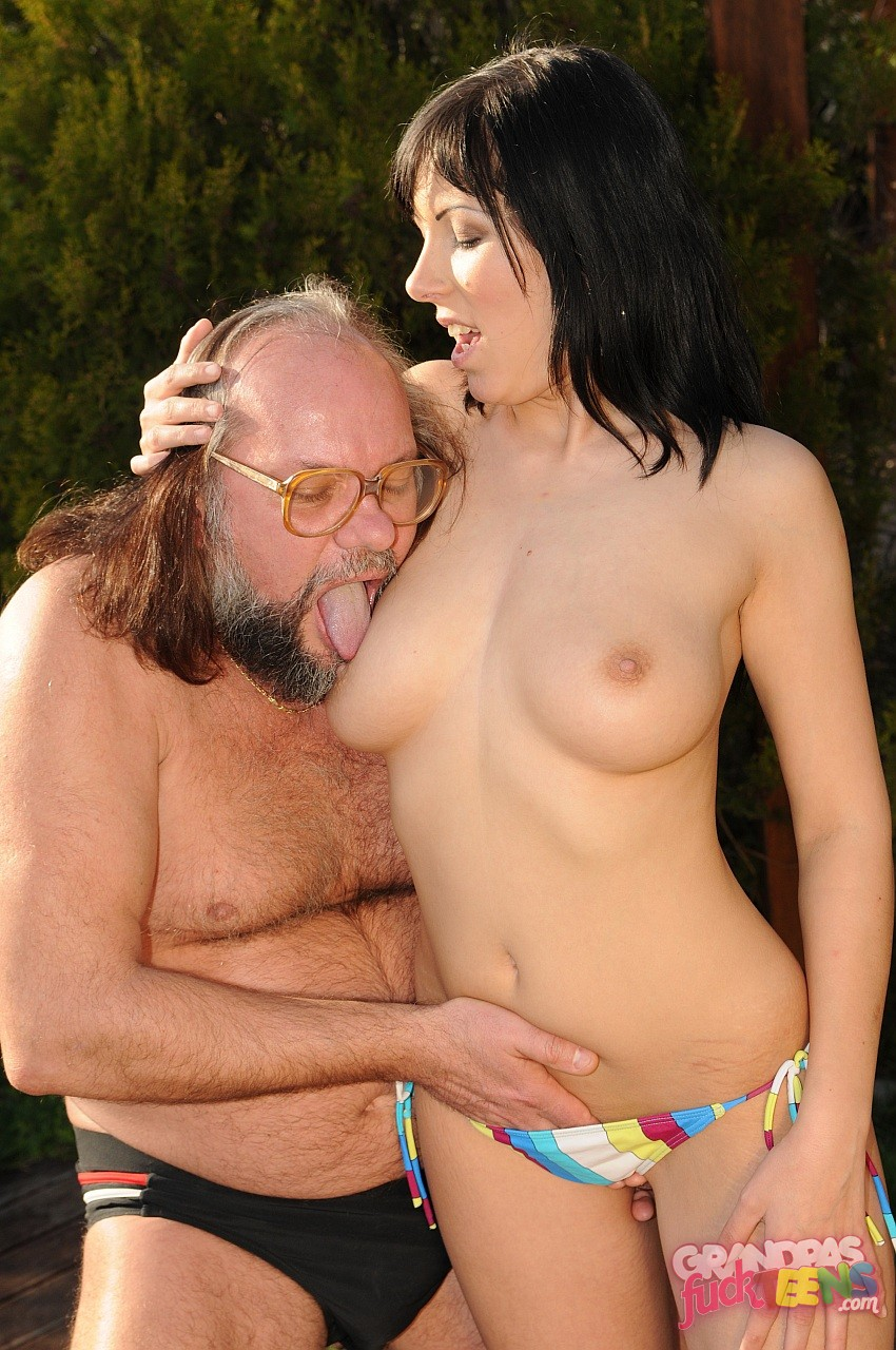 Old man and girl hot young amateur frannkie 2
