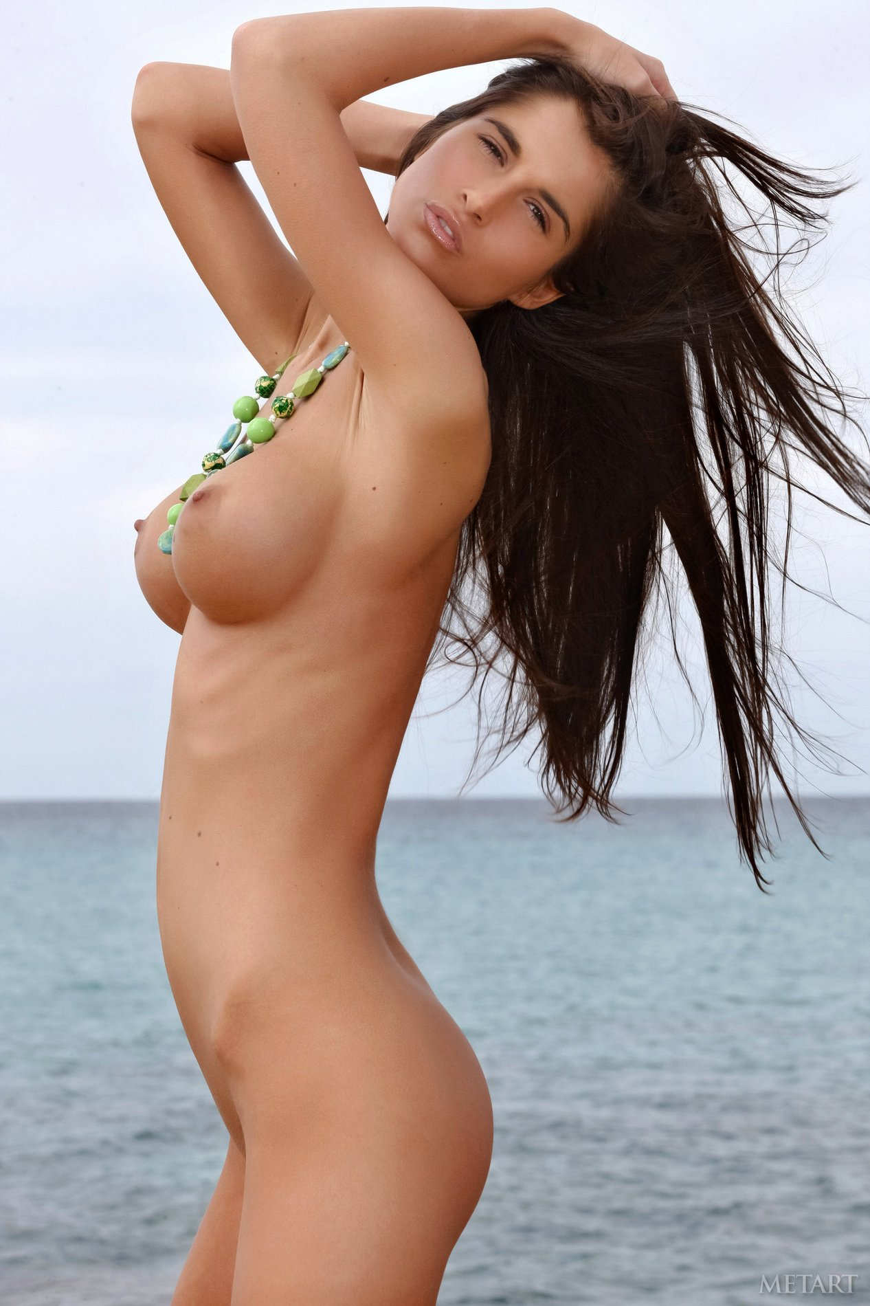 Nessa Devil Shows Off Her Amazing Body On The Beach - My -4817