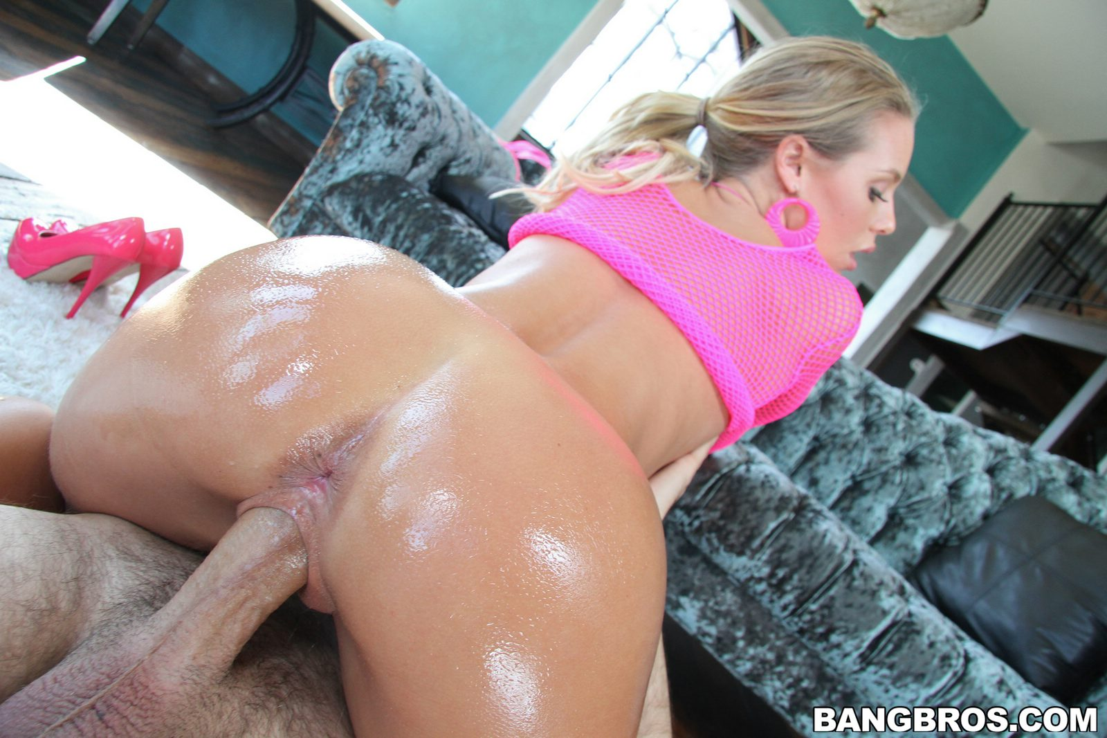 Nicole aniston oiled