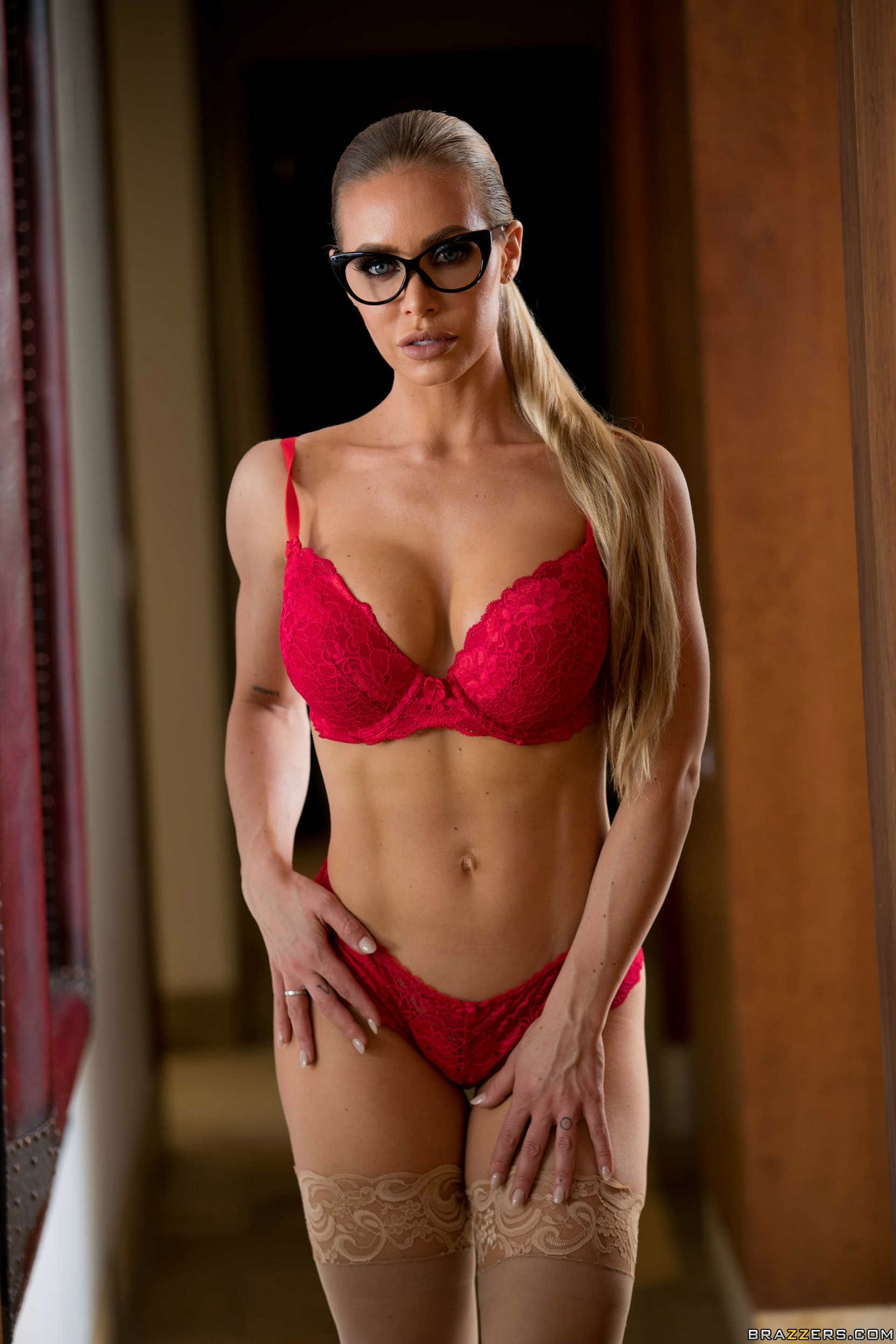 Nicole Aniston Takes Off Her Sexy Outfit And Underwear My